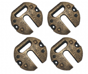 12.85Kg Metal Weights (Pack of 4)